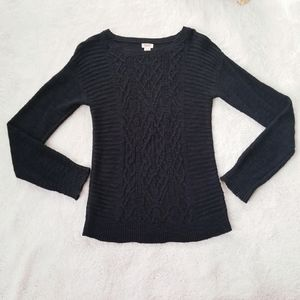 Mossimo Black Knit Sweater